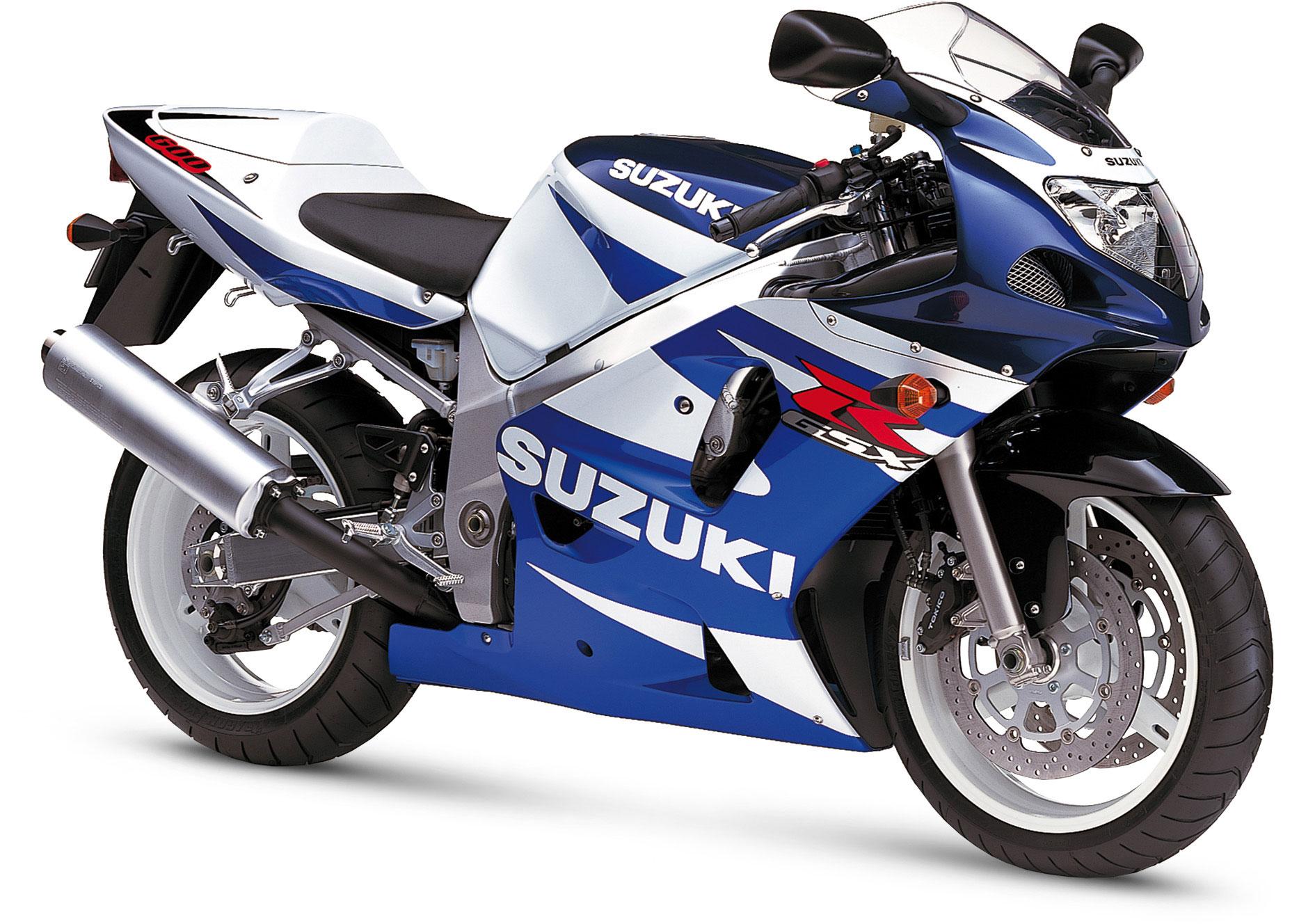 GSX R 600 2001-2003